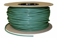 Wearwell 710 Green Vinyl Smooth Non-Conductive Switchboard Matting - 300 ft Length - 715411-01220