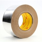 3M 433L Aluminum Tape - 4 in Width x 180 yd Length - 3.5 mil Total Thickness - 17763