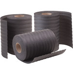 Shipping Supply Black Foam Sheets - 550 ft x 24 in x 1/8 in - SHP-13707