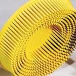 Dynabrade DynaBrite Nylon Bristle Disc - Medium Grade - Arbor Attachment - 4 1/2 in Outside Diameter - 90916