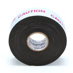 3M Scotch 13-1X15FT Black Semi-Conducting Tape - 1 in Width x 15 ft Length - 30 mil Thick - Electrically Conductive - 95884