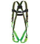 Miller E650 Green Universal Vest-Style Body Harness - Duraflex Webbing - 612230-00010