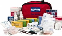North First Aid Kit - Nylon Bag Case Construction - 018504-4222