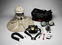 3M RBE-L10 PAPR & SAR Assembly - Assembly with Headpiece - Belt-Mounted - 051131-91899