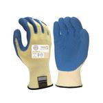 Armor Guys Taeki5 Ultimate 01-002 Blue/Yellow Large Taeki 5 Cut-Resistant Gloves - ANSI 3 Cut Resistance - Latex Palm & Fingers Coating - 01-002 LG