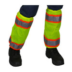 PIP 319-GT2 Hi-Vis Lime Yellow Polyester Gaiters - 17.5 in Inseam - 616314-22373
