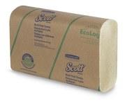 Scott Brown 250 Paper Towel - Folded - Multi-Fold - 9.4 in Overall Length - 9.2 in Width - 43751