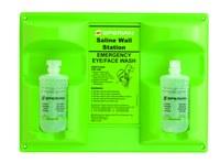Sperian Eyesaline Plastic Mounted Eyewash Station - Wall Mount - 32-000465-0000