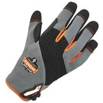 Ergodyne ProFlex 710 Gray/Black/Orange Large Work Gloves - 17044