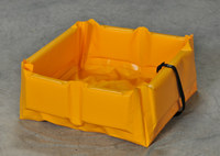 Eagle SpillNEST Yellow PVC 15 gal Spill Nest - 2 ft Width - 2 ft Length - 6 in Height - 048441-00613