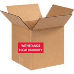 Shipping Supply Kraft Weather-Resistant Boxes - 8 in x 8 in x 8 in - SHP-13492