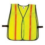 Ergodyne Glowear 8040HL High-Visibility Lime Universal Polyester Mesh High-Visibility Vest - 720476-20080
