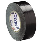 Polyken Berry Global Black Duct Tape - 60 in Width x 1300 yd Length - 12 mil Thick - 231 60 X 1300LY BLACK