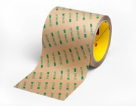 3M 9495LE Clear Bonding Tape - 1 in Width x 60 yd Length - 6.7 mil Thick - Kraft Paper Liner - 59951
