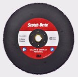 3M Scotch-Brite Clean & Strip XT Pro Disc - Silicon Carbide - 7 in Diameter - Type 27 Quick Change