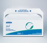 Scott Fiber 5000 Paper Toilet Seat Cover - 17 in Overall Length - 14.5 in Width - 39000