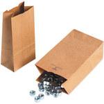 Kraft Hardware Bags - 4.3125 in x 2.4375 in x 7.875 in - SHP-3967