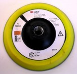3M 55813 PSA Disc Pad - 5 in Diameter - 5/8-11 Internal Thread Attachment