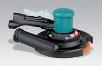 "Dynabrade 58446 8"" (203 mm) Dia. Two-Hand Gear-Driven Sander, Central Vacuum"