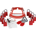 Brady 148867 Red Safety Lock and Tag Carrier - LOTO-88