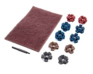 Standard Abrasives CB-2 800025 Mini Cross Buff Kit - 33026