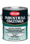 Krylon Industrial Coatings K0408 White Chemical-Resistant Coating - Liquid 1 gal Pail - 81009