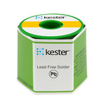 Kester 44 Activated Rosin Flux Core Lead-Free Solder Wire - 1 lb - 0.062 in Wire Diameter - Sn/Ag Compound - 24-7040-0061