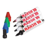 Marsh Black Markers - SHP-8314