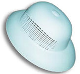 Chicago Protective Apparel White Universal Plastic Beekeeper's Helmet - CPA N16C