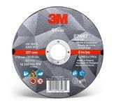 3M Silver Ceramic Cutoff Wheel - 5 in Diameter - 87467