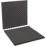 Shipping Supply Charcoal Foam Sheets - 24 in x 24 in x 2 in - SHP-12330