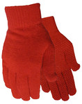 Red Steer 8160 Assorted Universal Acrylic General Purpose Gloves - PVC Dotted Both Sides Coating