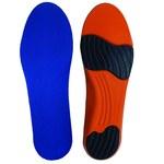Impacto Ultra Blue/Orange 8 to 9 Sorbothane Insole - 628167-36840