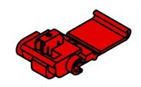 3M Scotchlok 558-BOX Red Tap Connector - Tap Connector - 0.12 in Max Insulation Outside Diameter - 14861