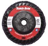 3M Scotch-Brite Clean & Strip XT Pro Disc - Silicon Carbide - 4 1/2 in Diameter - Type 27