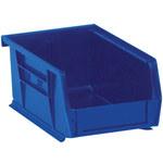 Blue Hang Bin Boxes - 7.375 in x 4.125 in x 3 in - SHP-2920