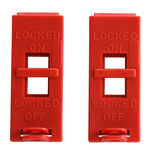 Brady Red Wall Switch Lockout 103540 - 754476-17525