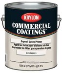 Krylon Commercial Coatings K2104 White Latex Paint Primer - 1 gal Pail - 00391