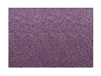 3M Scotch-Brite Purple Diamond Pad - 20 in Diameter - For use with floor machines (175 RPMS – 3000 RPMS) - 23894