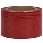 Red Colored Stretch Film - 1000 ft x 3 in - 80 Gauge Thick - SHP-7150