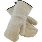 PIP 42-853 White Universal Cotton/Terry Cloth Heat-Resistant Mitt - 616314-02519