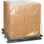 Clear Clear Pallet Covers - 36 in x 27 in x 65 in - 1 Mil Thick - SHP-6545