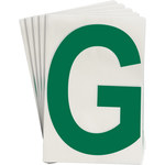 Brady Toughstripe 121730 Green Polyester Letter Label - Indoor - 6 in Width - 8 in Height - 8 in Character Height - B-514