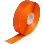 Brady ToughStripe Max Orange Floor Marking Tape - 2 in Width x 100 ft Length - 0.050 in Thick - 60805