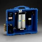 3M 256-02-01 Blue PAPR & SAR Air Filtration Panel - Odor, Particulates Filtration - 100 cfm Max Air Flow - Portable - 051138-72122