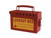 Brady Prinzing Red Group Lockout Box 45580 - 754473-45580