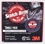 3M Scotch-Brite Roloc Clean & Strip XT Pro Disc - Silicon Carbide - 4 in Diameter - 1/2 in Thick - Quick Change TR+ - Single Pack