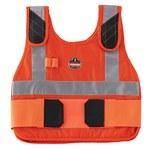 Ergodyne Chill-Its Orange Large/XL Cotton Cooling Vest - 720476-12206