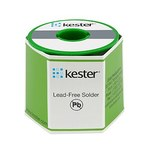 Kester 296 Lead-Free Solder Wire - 250 g - 0.020 in Wire Diameter - Sn/Ag/Cu Compound - 91-7068-9820