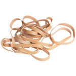 Shipping Supply Brown Rubber Bands - 2 1/2 in x 1/4 in - SHP-11548